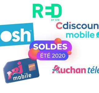 RED, Sosh et autres : voici les meilleurs forfaits 4G des Soldes 2020