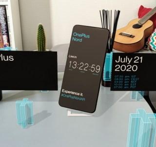 OnePlus Nord : voici l'application de réalité augmentée pour suivre son lancement le 21 juillet