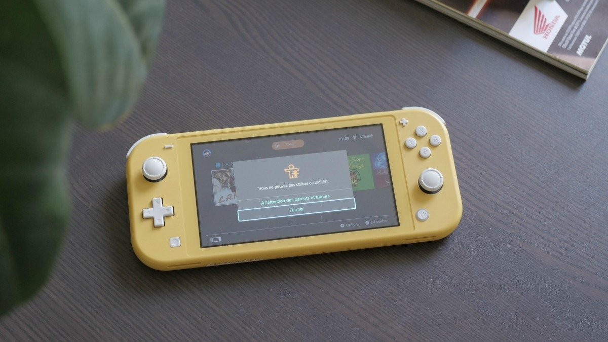 Nintendo Switch : comment configurer le contrôle parental ?