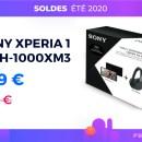 Le pack Sony Xperia 1 + WH-1000XM3 est de retour à prix cassé pour les soldes