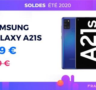Le récent Samsung Galaxy A21s tombe d'ores et déjà sous les 200 euros