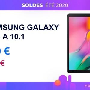 La tablette Samsung Galaxy Tab A 10.1 chute à 170 € pour les soldes