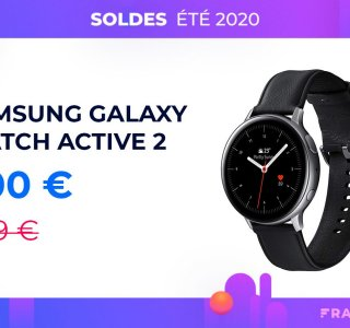 L'excellente Samsung Galaxy Watch 2 à seulement 200 euros