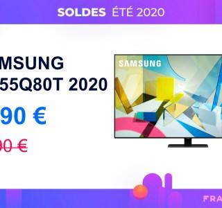 200 euros de remise pour le TV Samsung Q80T compatible 4K/120 Hz (HDMI 2.1)