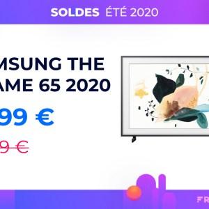 Le téléviseur Samsung The Frame 2020 de 65 pouces est déjà soldé