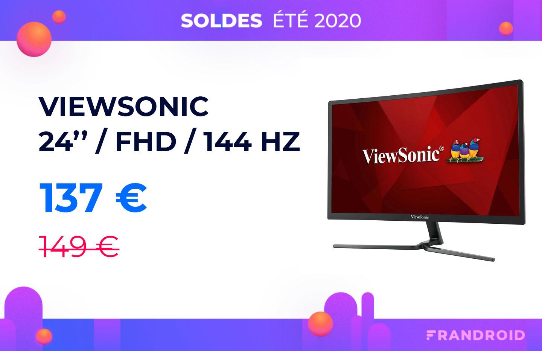Le bonheur d'un écran PC 24 pouces 144 Hz à moins de 140 euros