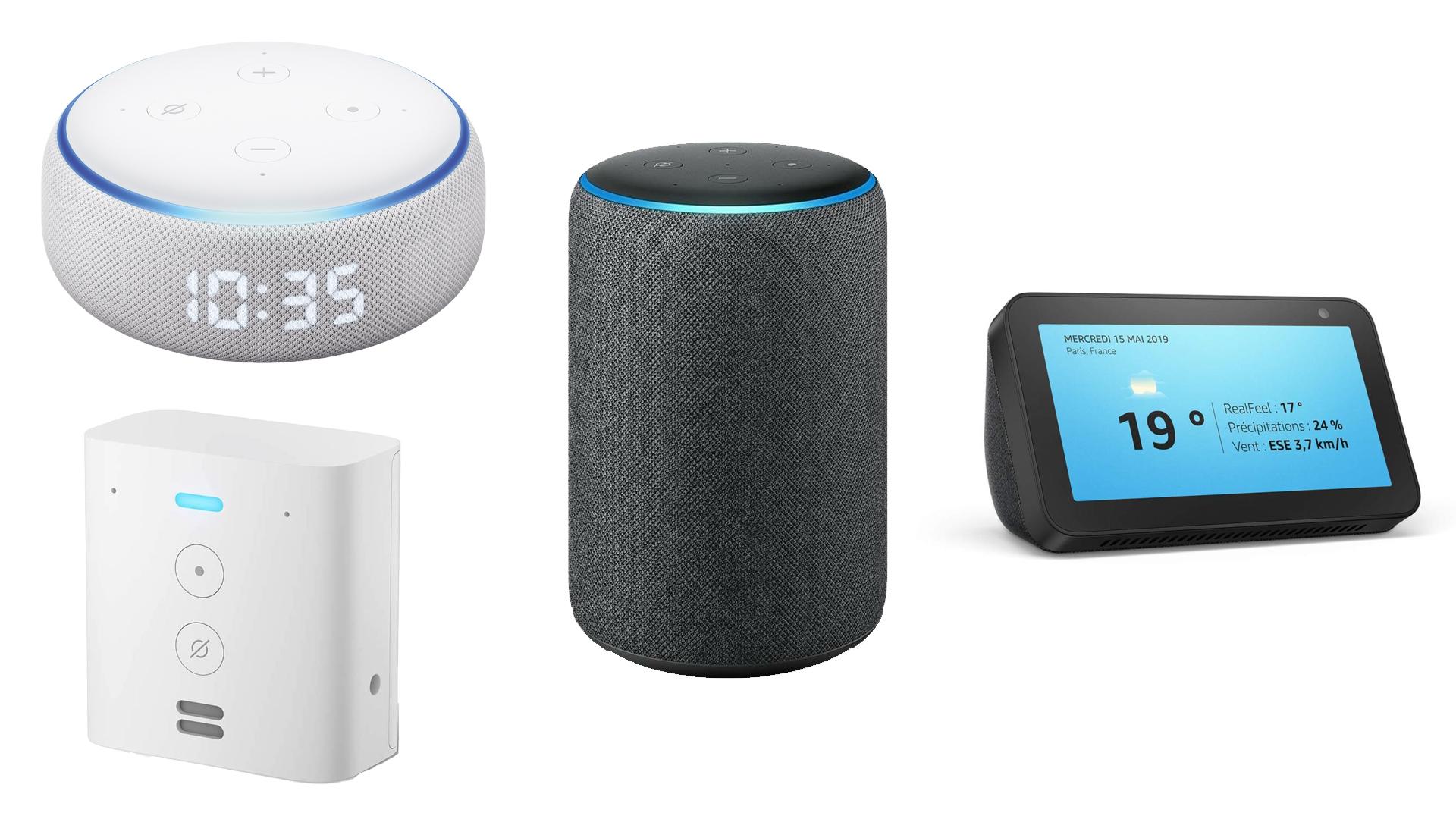 Amazon Echo : les meilleurs produits de la gamme sont en promotion pour la rentrée