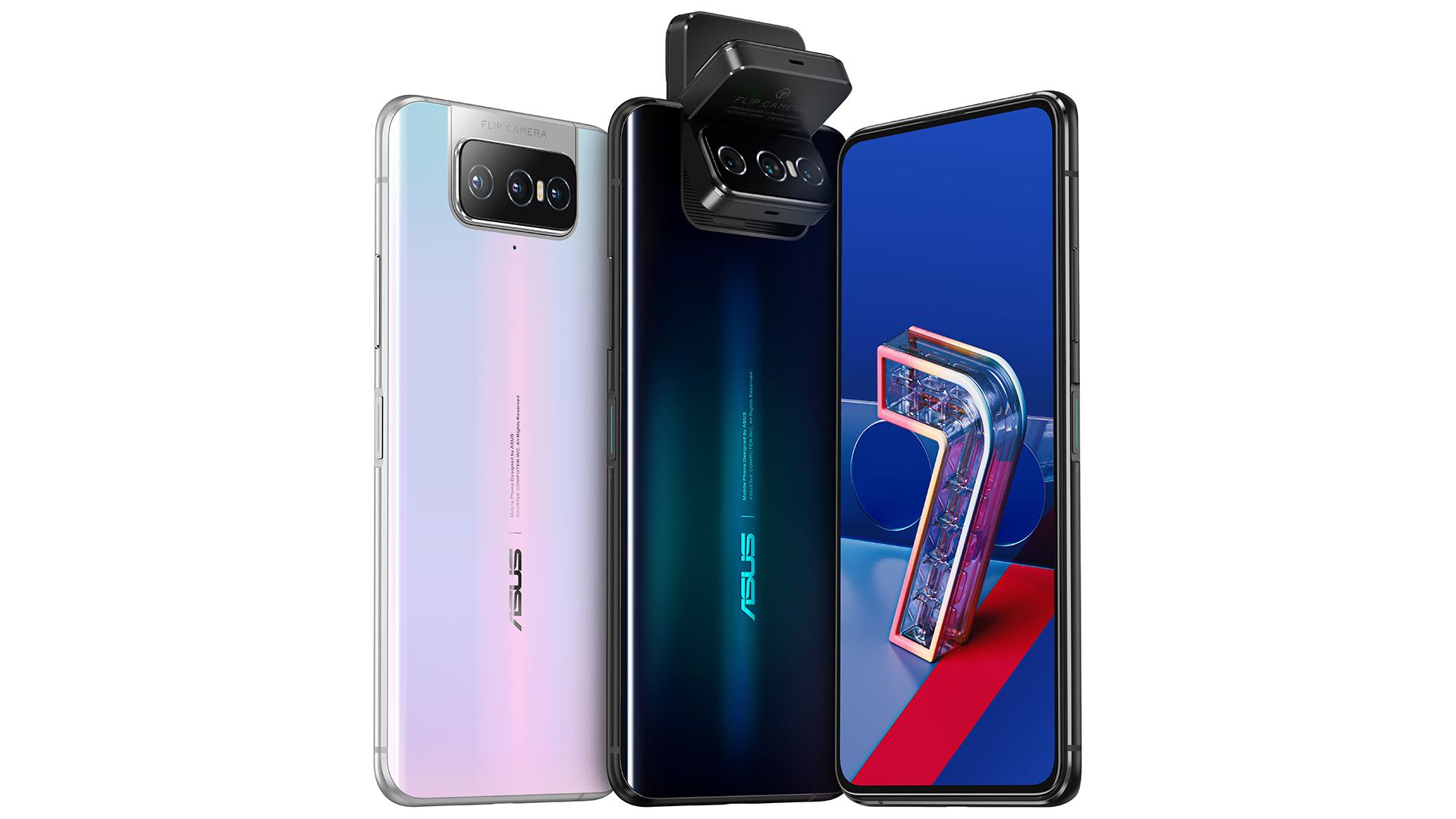 Asus Zenfone 7 et 7 Pro officialisés: la Flip Camera a maintenant trois capteurs photo