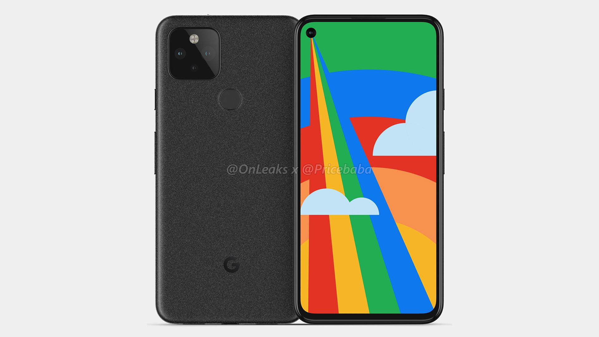 Google Pixel5: admirez son poinçon et son triple module photo en images