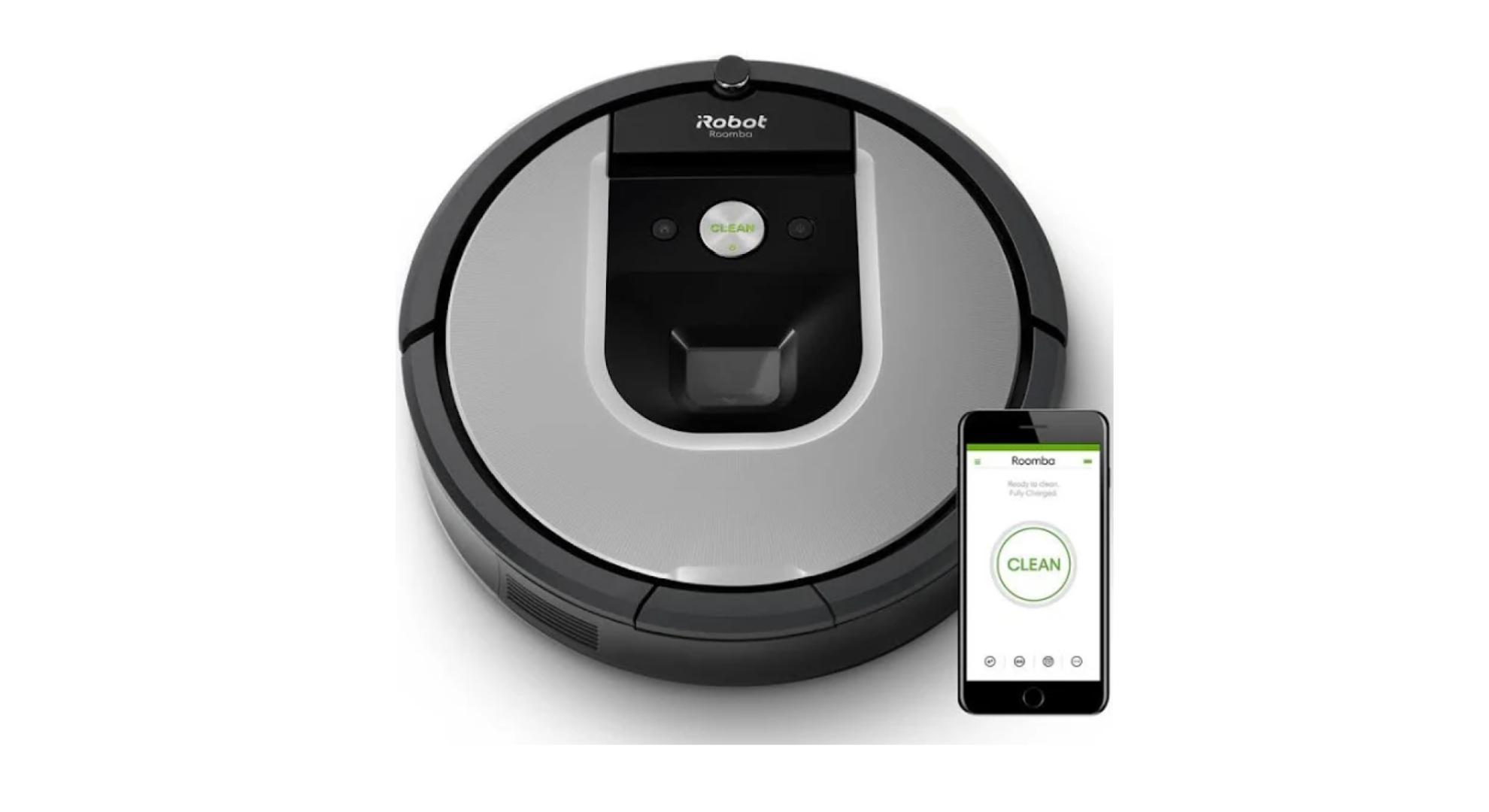 iRobot Roomba 975 : ce robot aspirateur est 120 € moins cher que d'habitude