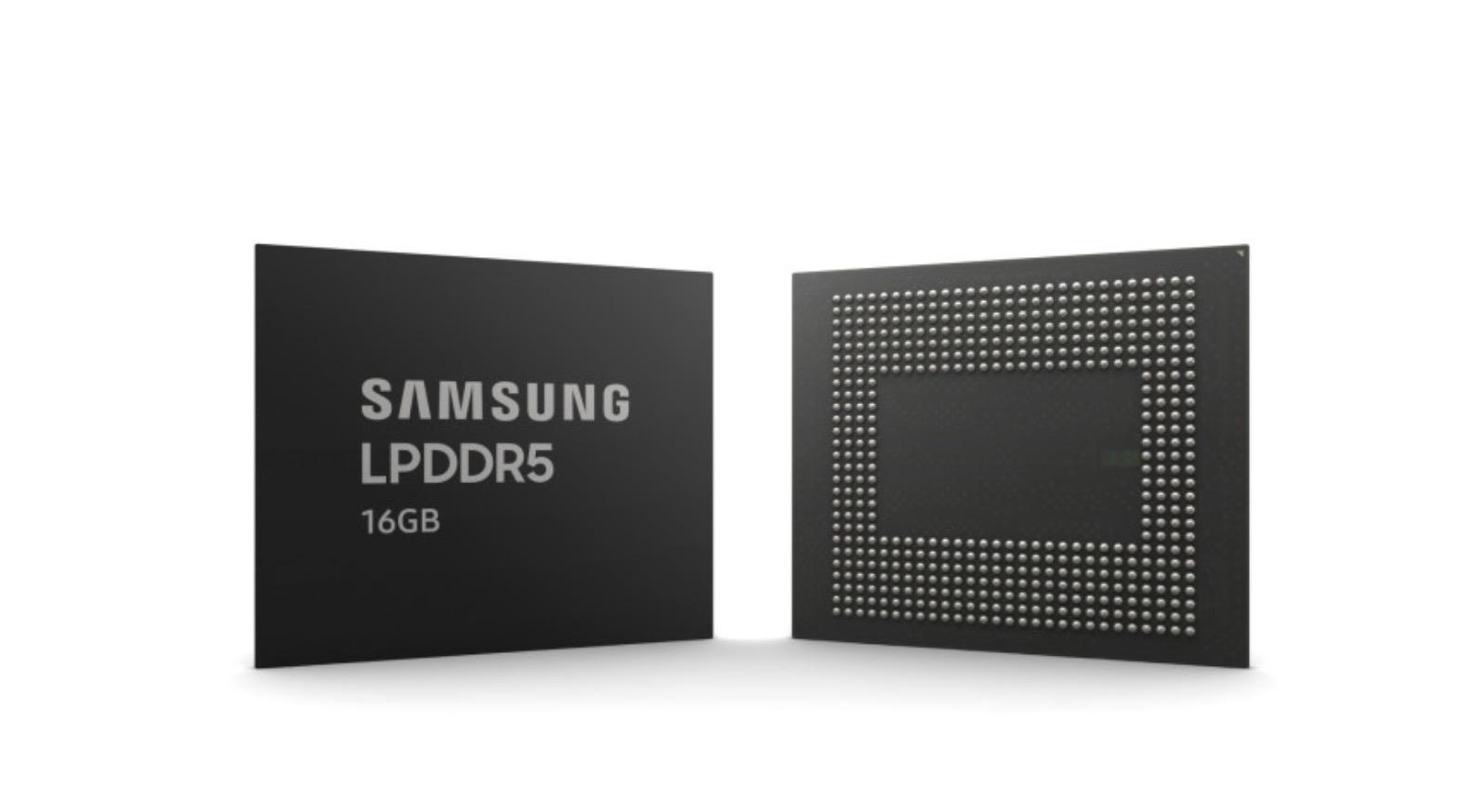 Samsung : de la mémoire LPDDR5 plus fine et plus rapide attendue pour 2021