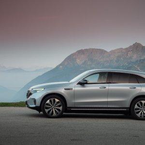 Essai du Mercedes EQC: un parcours fléché