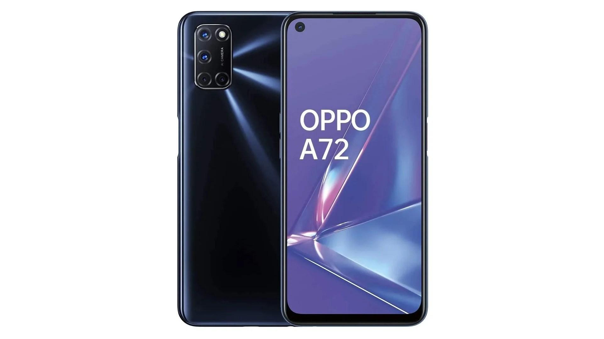Le smartphone Oppo A72 chute à 229 euros chez tous les revendeurs