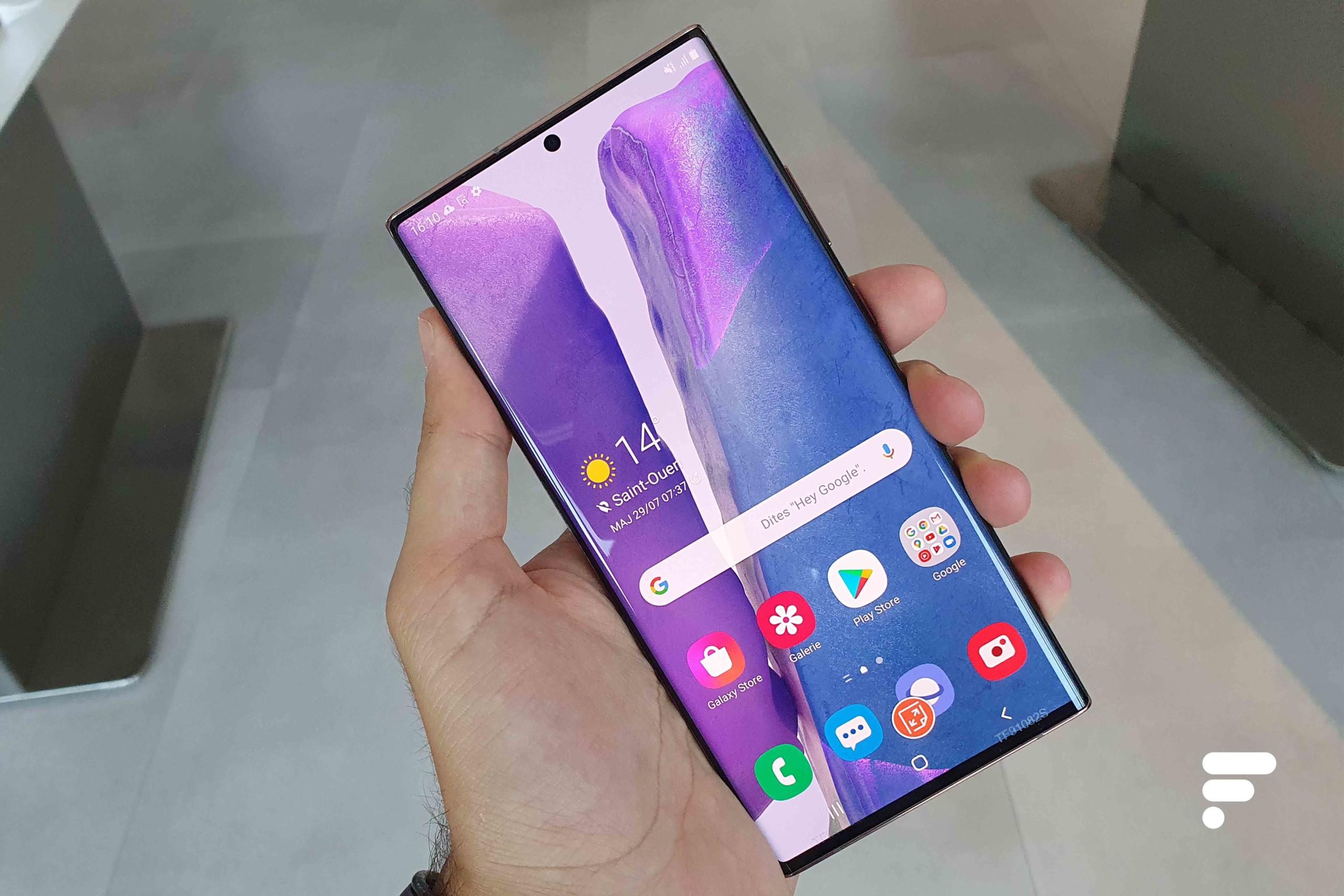 Prise en main du Samsung Galaxy Note20 Ultra: plaire sans surprendre