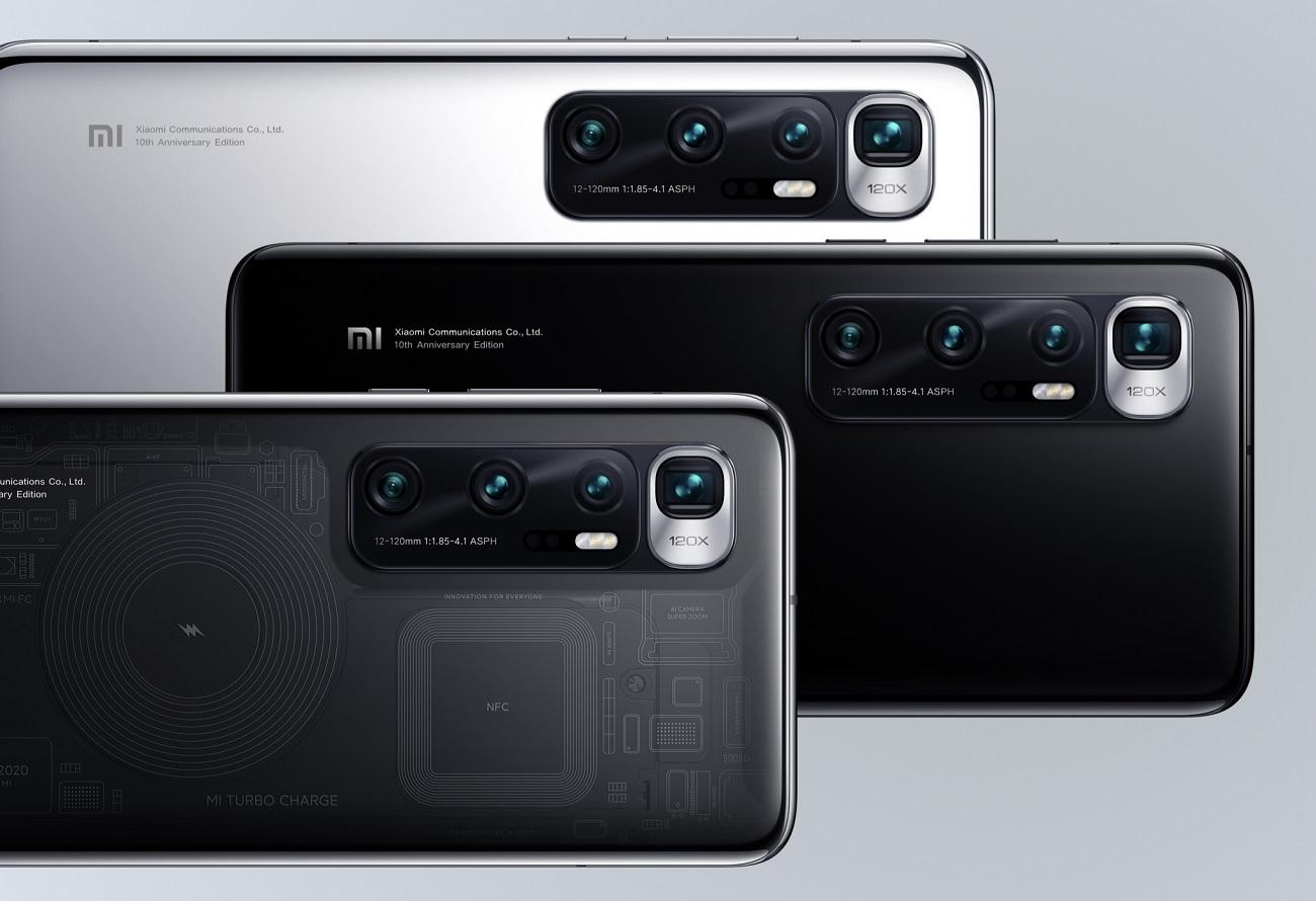 Xiaomi Mi10 Ultra officialisé: écran 120Hz, charge rapide 120W et zoom120x