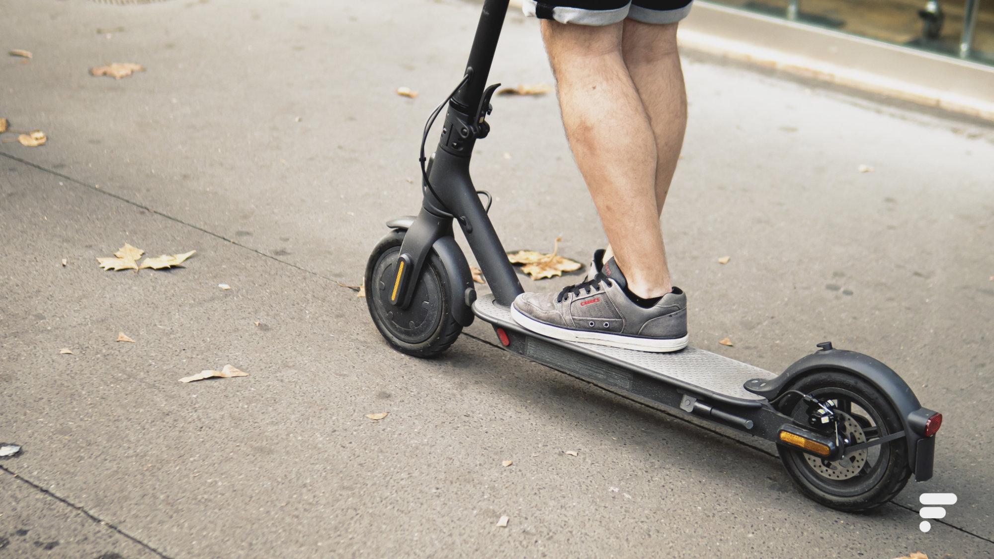 Mi Scooter 1S : la trottinette électrique de Xiaomi perd 150 € de son prix