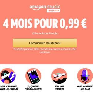 Que diriez-vous de payer 1 € pour écouter 50 millions de musiques en illimité ?