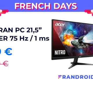 Offrez-vous un écran de PC efficace pour moins de 70 € lors des French Days