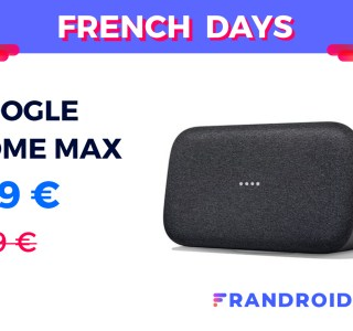 L'énorme enceinte de Google n'a jamais été aussi abordable que pour les French Days