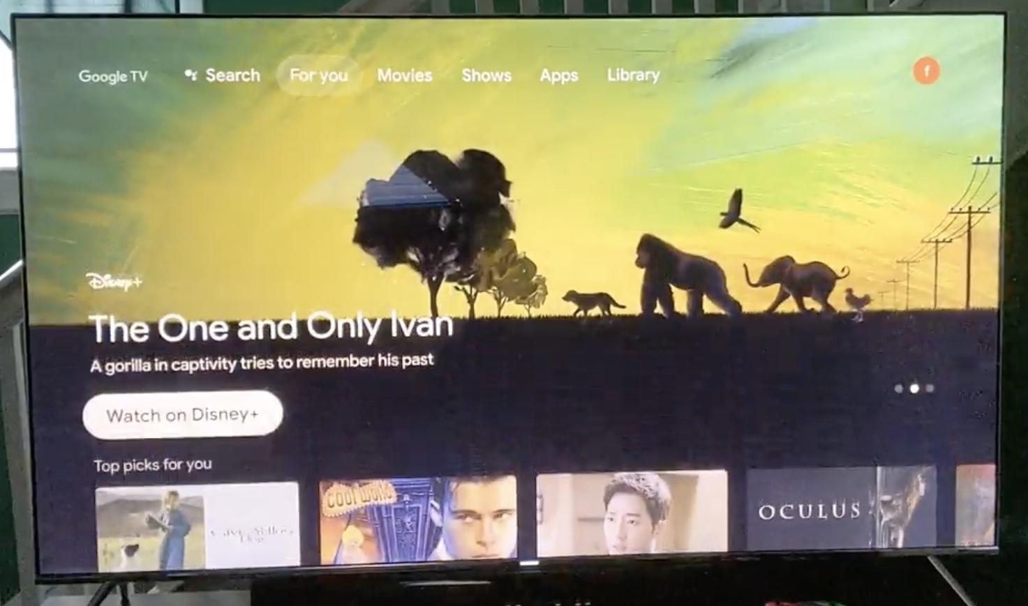 Google TV : une vidéo révèle une interface fluide et rapide pour le prochain Chromecast