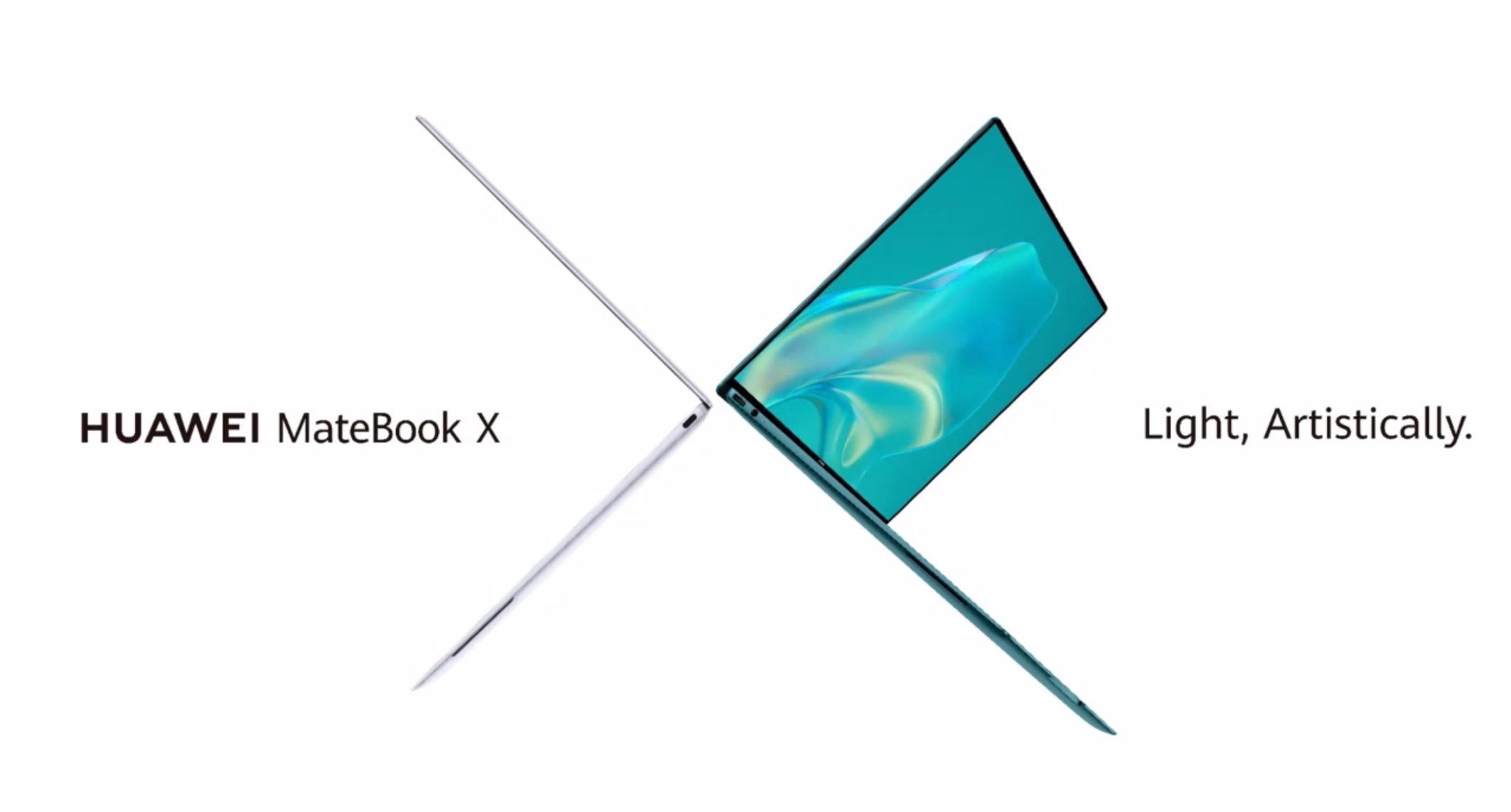 Huawei MateBook X : la marque reprend le meilleur de ses smartphones