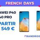 Les Huawei P40 et P40 Pro sont eux aussi en promotion pour les French Days