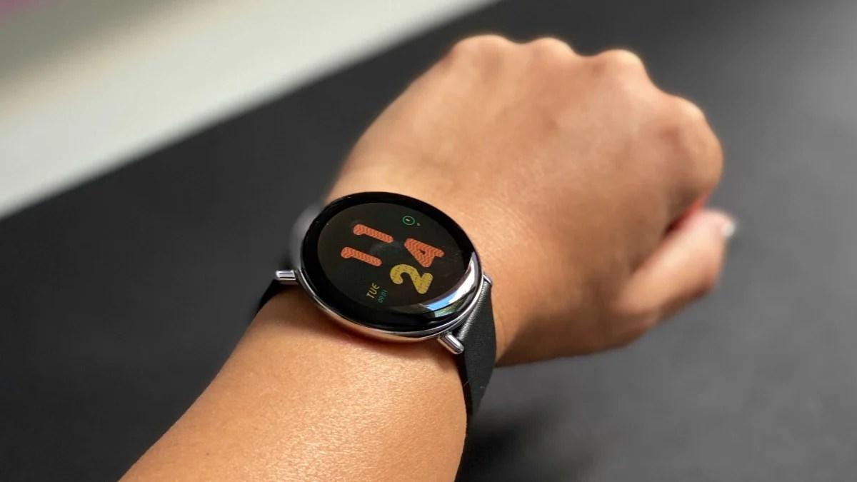 Zepp E, la montre qui peut calculer votre niveau de stress