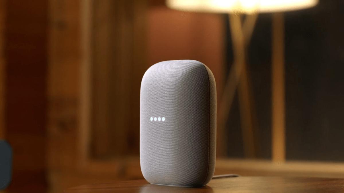 Google dévoile Nest Audio, l'enceinte connectée pour ceux qui aiment le son puissant