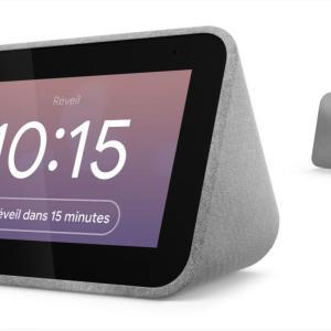 Le réveil intelligent Lenovo Smart Clock bénéficie de 50 % de réduction