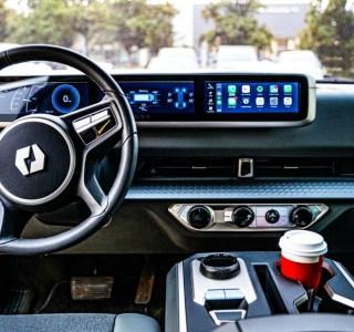 Toujours plus d'écrans : le pick-up électrique Endurance révèle son intérieur connecté