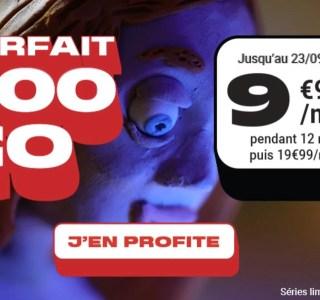 Ce forfait mobile 100Go à 10€/mois est idéal pour les gourmands en 4G