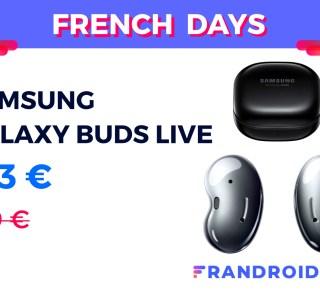 Déjà plus de 50 € de réduction pour les Samsung Galaxy Buds Live