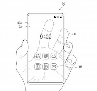 Samsung : voici un brevet pour un intrigant smartphone transparent