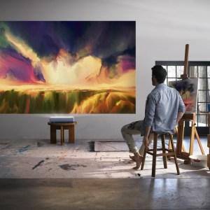 Samsung mise également sur les vidéoprojecteurs à ultra-courte focale avec The Premiere