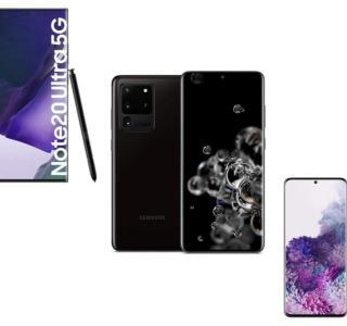 S20+, S20 Ultra ou Note 20 : les smartphones Samsung Galaxy sont en promotion