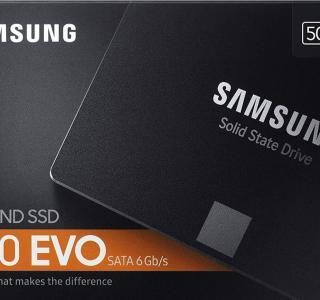Le SSD Samsung 860 EVO de 500 Go est enfin de retour à un bon prix