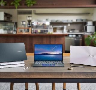 Asus Zenbook 14 et Zenbook Ultralight: les PC portables passent sous le kilogramme