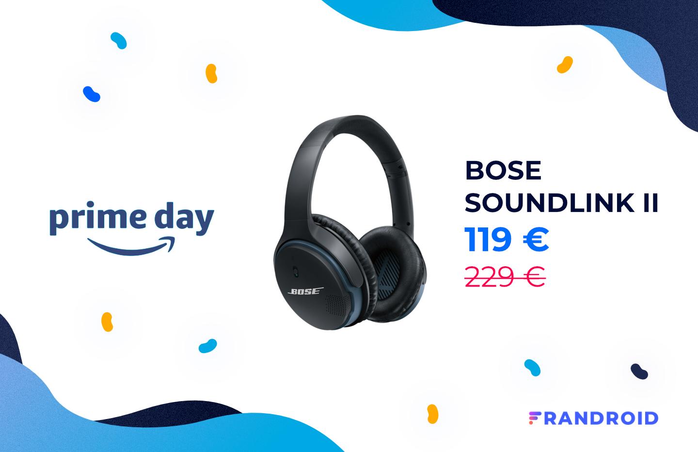 Le Prime Day, c'est aussi 110 € de remise pour le casque Bose SoundLink II