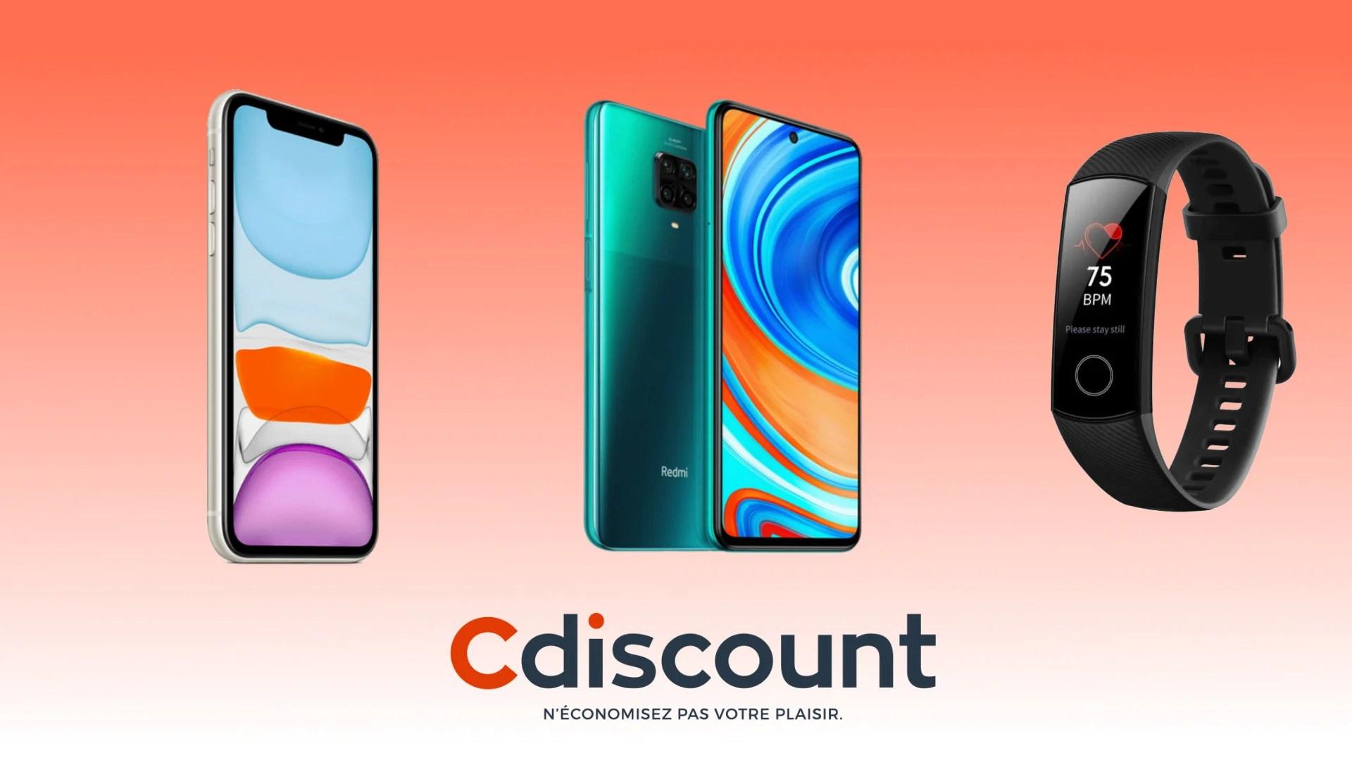iPhone 11, Redmi Note 9, TV 4K: Cdiscount lance les 72 heures à volonté avec des remises exclusives