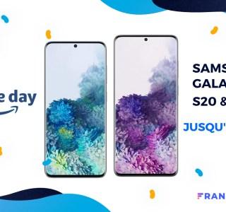 Les Samsung Galaxy S20 et S20+ sont à -30 % pour le Prime Day d'Amazon