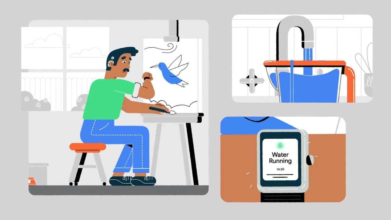 Google veut vous prévenir des bruits de maison via des notifications