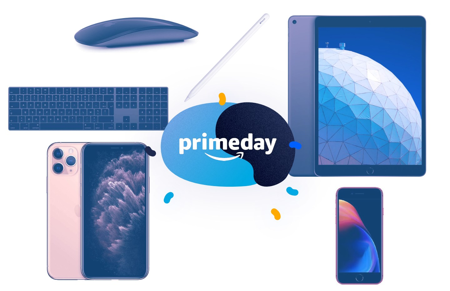 Les accessoires Apple à prix bas pour le Prime Day : AirPods Pro, Apple Pencil, Magic Keyboard, etc.