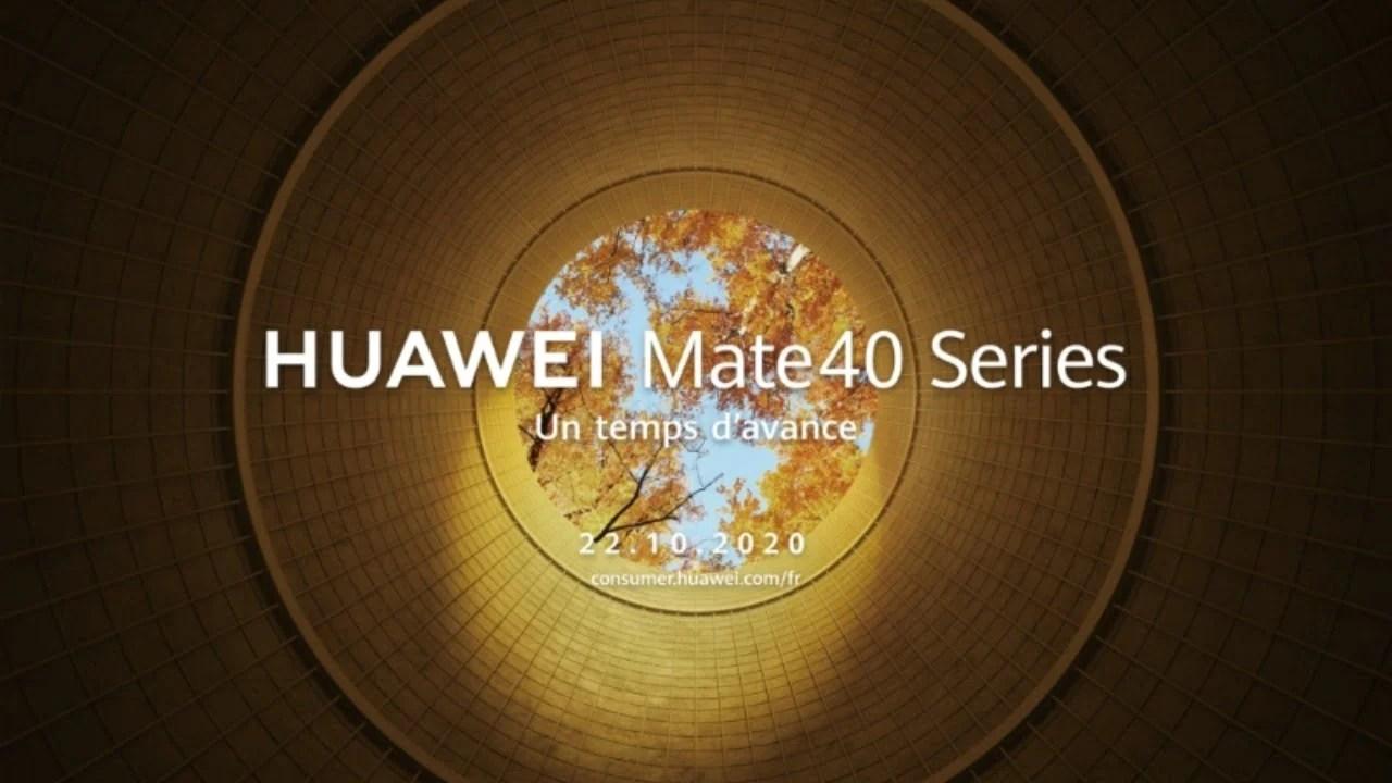 Huawei Mate 40, Mate 40 Pro, Kirin 9000 : suivez la conférence en direct
