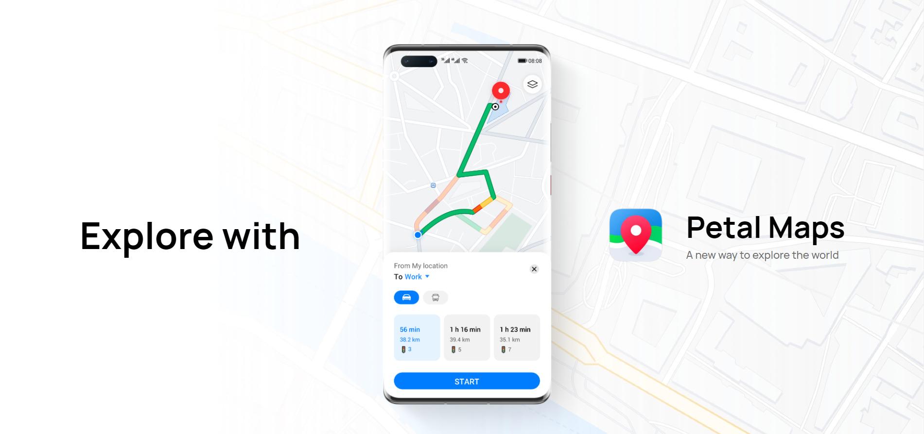 Huawei Petal Maps : l'alter ego de Google Maps se concrétise enfin en bêta
