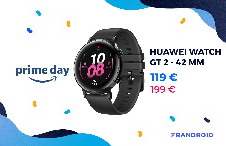La Huawei Watch GT 2 n'a jamais été aussi abordable que pendant le Prime Day