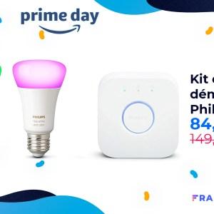 Les ampoules connectées Philips Hue sont aussi à l'honneur pour le Prime Day