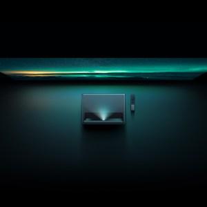 Xiaomi officialise l'arrivée du Mi 4K Laser en France : un vidéoprojecteur à ultra-courte focale