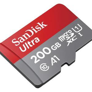 Grosse capacité à petit prix avec la microSD SanDisk Ultra 200 Go en promotion