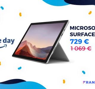 C'est dorénavant 340 € de réduction pour la Microsoft Surface Pro 7