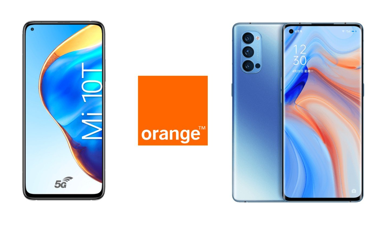 Clients Orange et Sosh mobile: des ventes privées et des réductions exclusives sur les nouveautés OPPO et Xiaomi